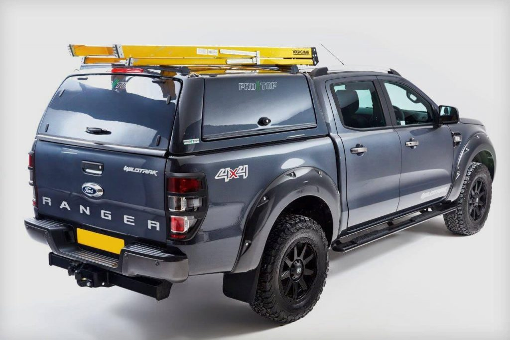 Ford Ranger Pro//Top Gullwing Hardtop Canopy