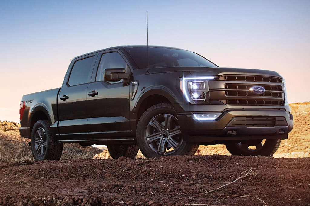 All-New Electric Ford F150 Pickup Truck