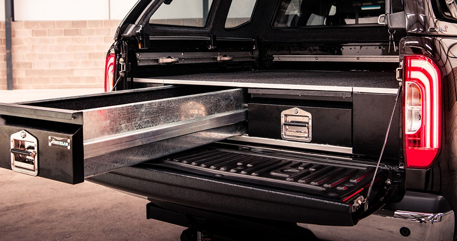 Shop for Bespoke Pickup Truck Drawer systems