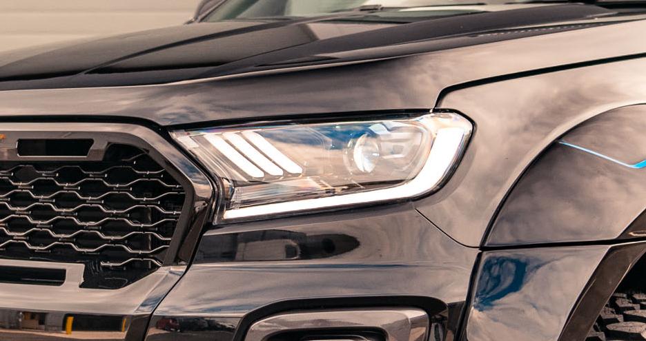 Headlight upgrades for pickup trucks