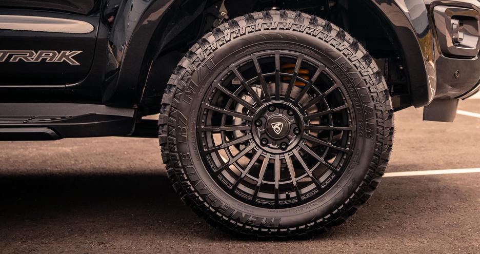 Predator alloy wheels for pickups