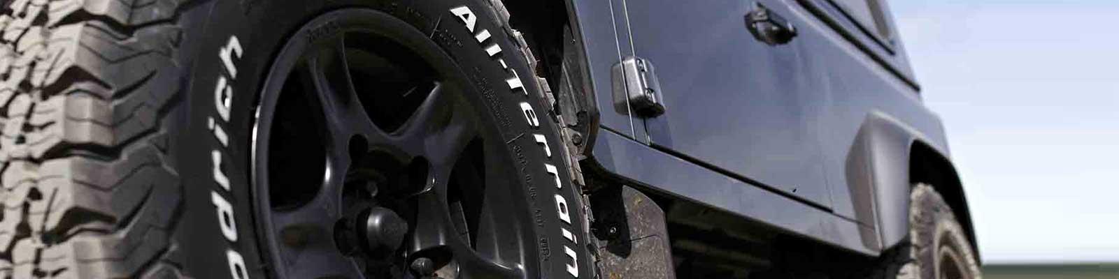 All Terrain 4x4 Tyres