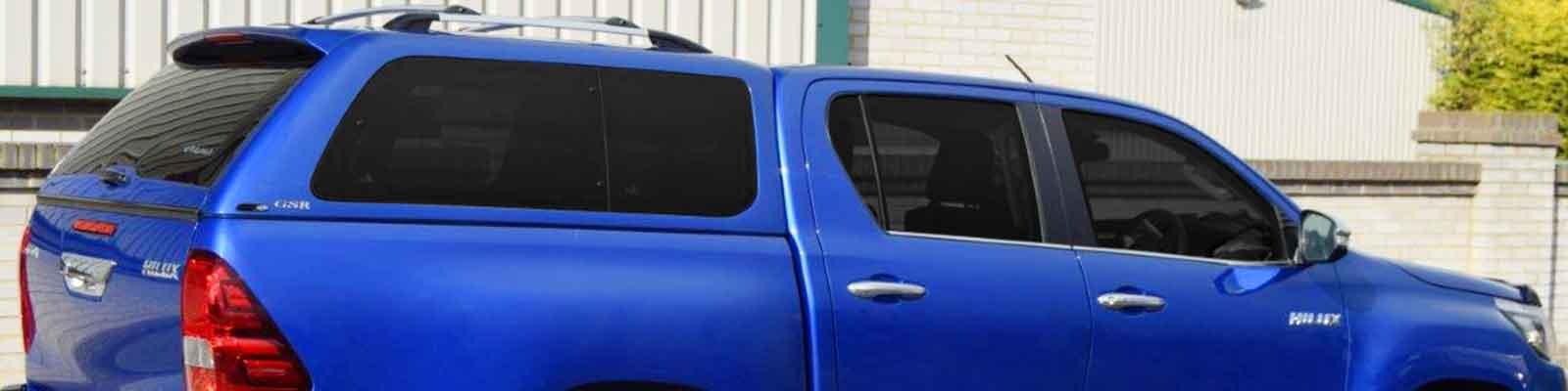 Alpha Hard Top Canopies | Aluminium Pickup Canopy