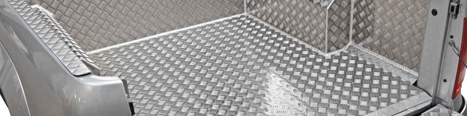 Samson Chequer Plate Bed Liners