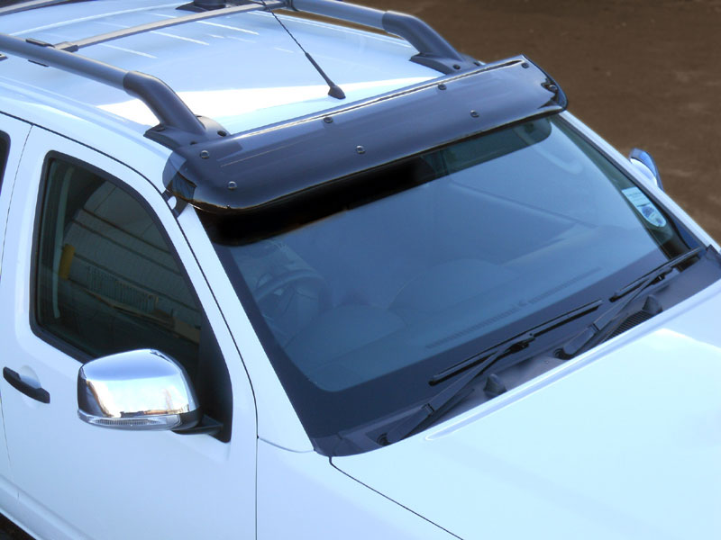 Nissan Navara D40 Windscreen Sun Shade Visor - 4x4 Accessories   Tyres ada79ec64e8