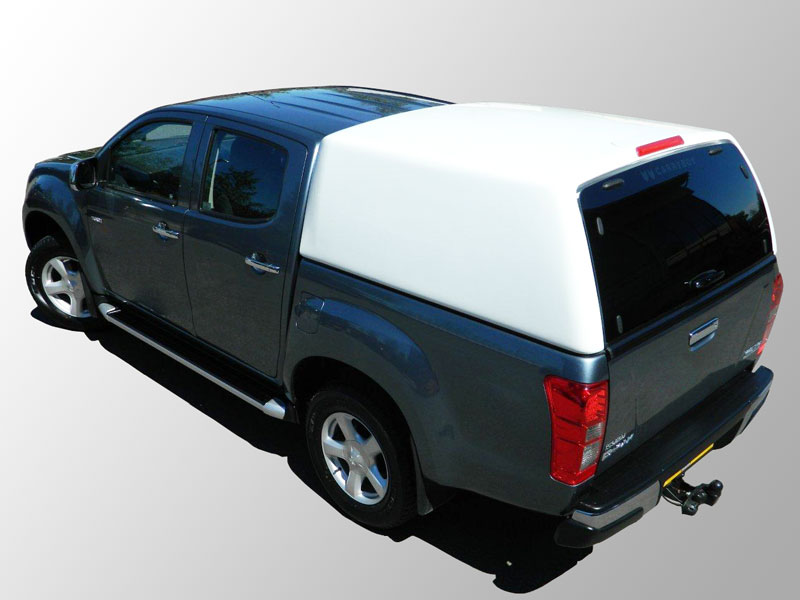Isuzu D-Max 2012 On Double Cab Carryboy Commercial Canopy