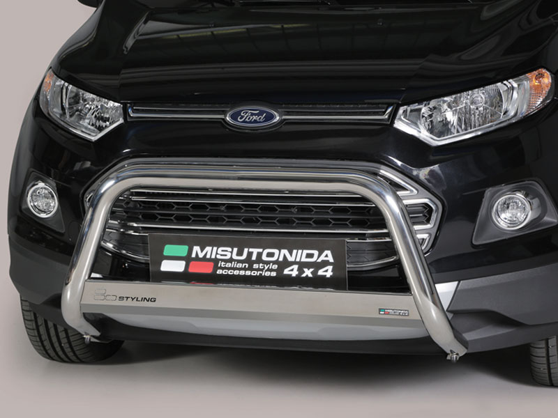 Ford Ecosport 14 On 63mm Mach Nudge Bar Stainless Steel A Bar 4x4