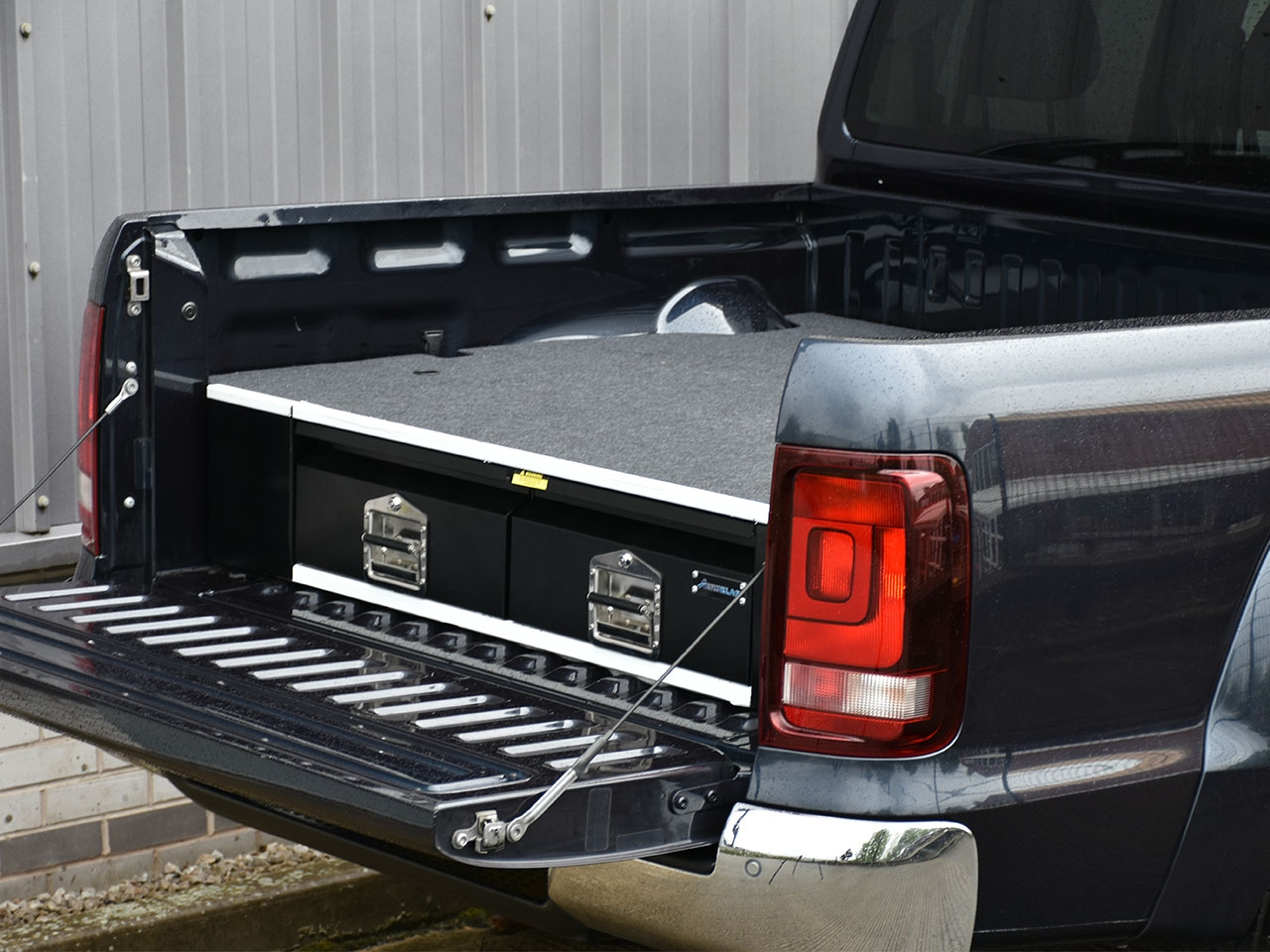 VW Amarok Double Cab Bespoke Load Bed Drawer - 4x4 Accessories & Tyres
