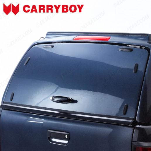 Carryboy Workman Complete Solid Rear Door for Ford Ranger 2012- PN3FV Sea Grey
