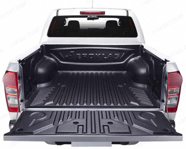 2012 On Isuzu D-Max Double Cab Heavy Duty Pickup Bed Liner Under Rail