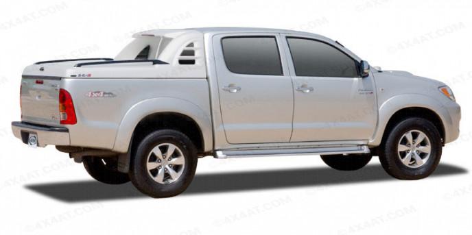 Toyota Hilux Mk6 Alpha SCR Sports Tonneau Cover Primer Finish