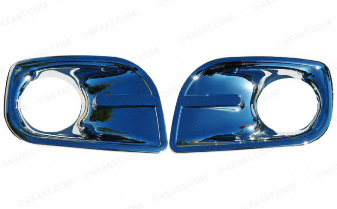 Toyota Hilux Mk6 Fog Lamp Covers Chrome