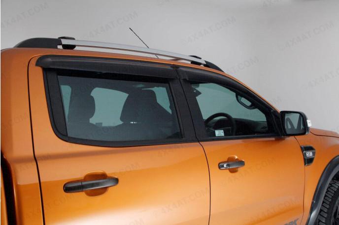 Ford Ranger T6 wind deflectors