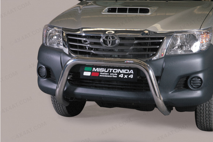 2012 On Toyota Hilux A-Frame Bull Bar EU Approved Stainless Steel