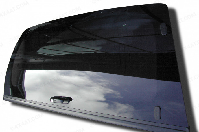 Carryboy Workman and ProTop Low Roof Canopy Complete Rear Door Glass for Isuzu Dmax 2017 onwards