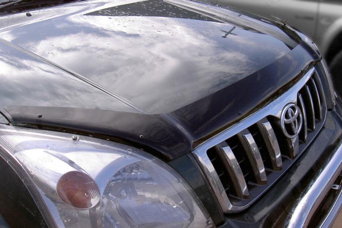 Toyota Landcruiser LC120 Dark Smoke Bonnet Bug Shield