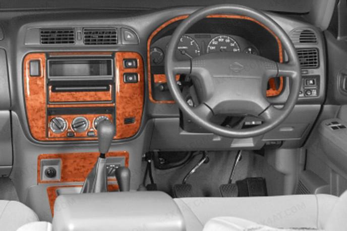 Patrol Gr Mk2/3  Wood Trim Kit For Interior Dash Board