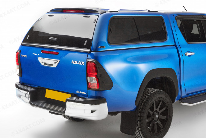 Hilux 2016 On Double Cab Carryboy Leisure Hard Trucktop With Side Windows