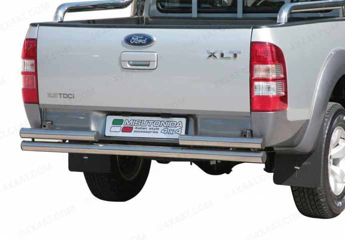 Ford Ranger Mk3 Stainless Steel Rear Bar (Non Towing)