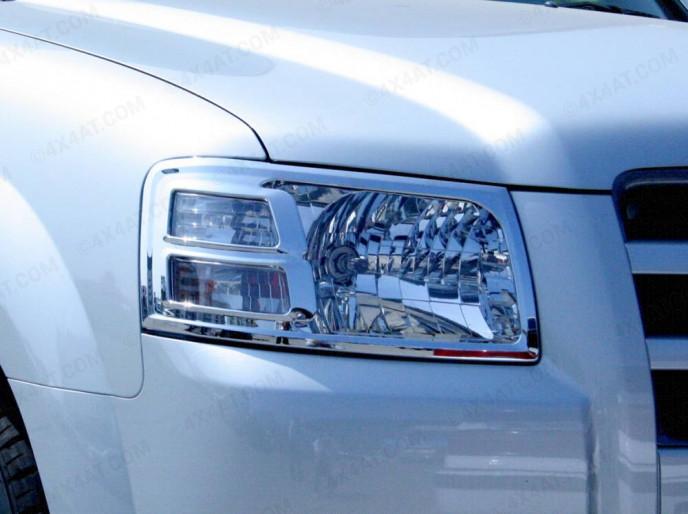Ford Ranger Mk3 Chrome Head Lamp Surround