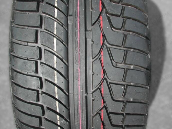 Accelera Tyre tread pattern