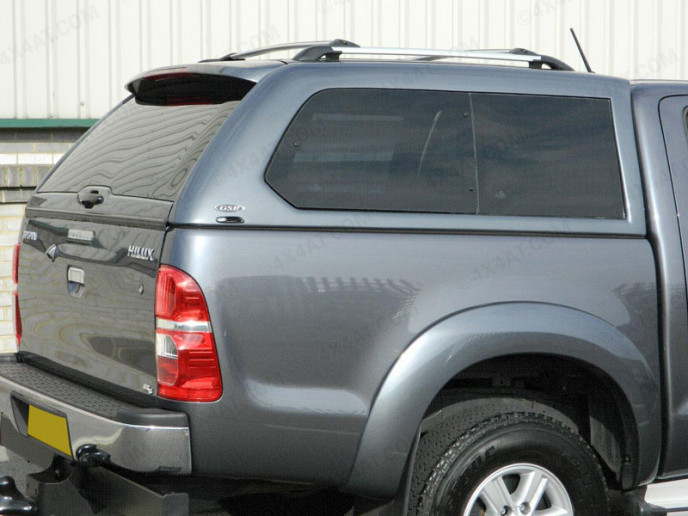 Toyota Hilux Mk6 Double Cab Alpha Gse Hard Top With Side Windows