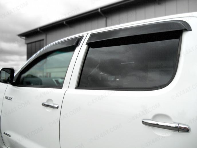 Toyota Hilux 6 Double Cab wind deflectors