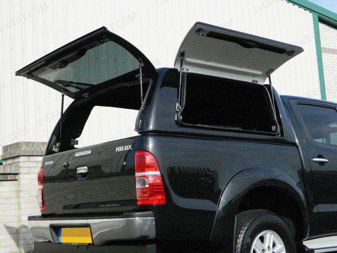 Toyota Hilux double cab pickup fitted with Carryboy Workman