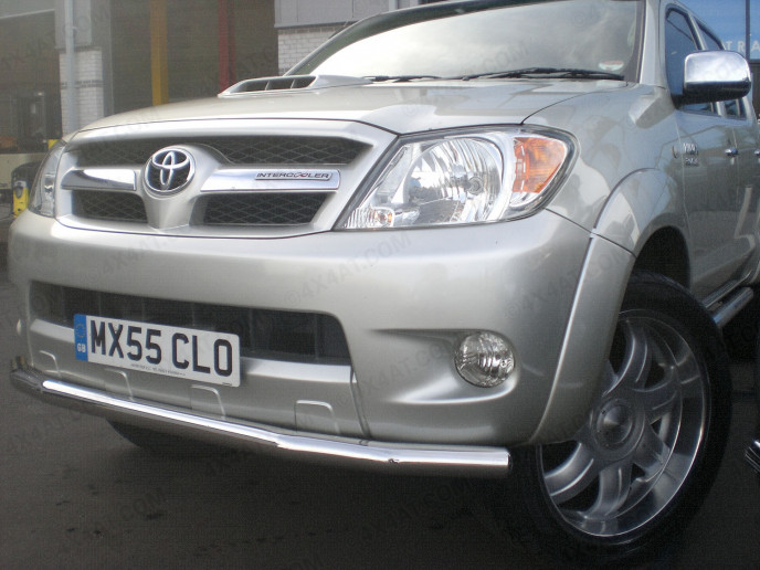 Toyota Hilux Mk6 Stainless Steel City Guard Bar