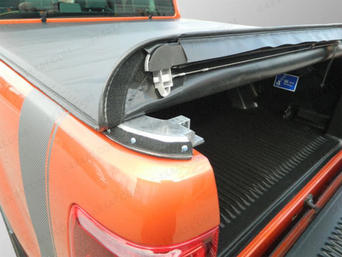 Ford Ranger 2012 On DC Roll-up Soft Tonneau