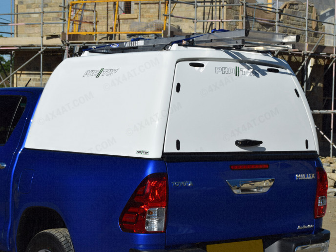 New Toyota Hilux 2016 onwards Pro//Top Tradesman Canopy High Roof Blank Sided