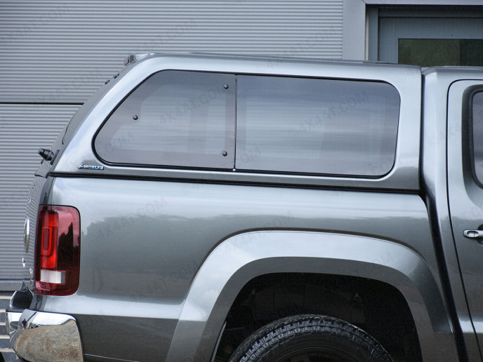 Vw Amarok Pickup Double Cab Aeroklas Hard Top  With Window Sides-1