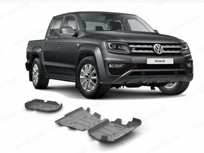 VW Amarok Underbody Skid Plates Protection Kit