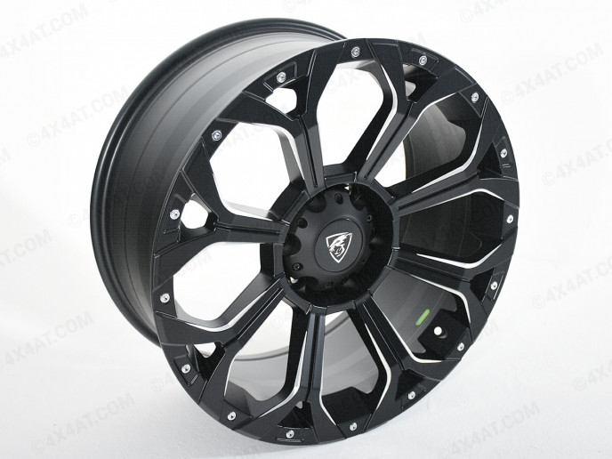 Matt Black Predator Coyote Alloy Wheel