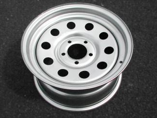 Silver Modular Steel Wheel For Volkswagen Amarok