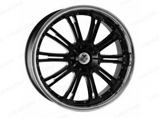 20X8.5 Lexus Rx300 Wolf Ve Black Alloy Wheels