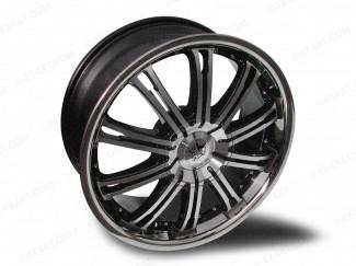 20'' Lexus Rx300 Wolf Ve Machine Faced Black  4X4 Alloy Wheel 5:114