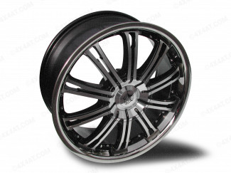 20 Inch Peugeot 4007  Wolf Ve Machine Faced Black  4X4 Alloy Wheel 5:114