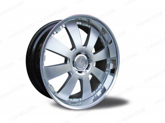 22 X 9.5  Mitsubishi L200 Mk3 & Mk4 Concerto Silver Alloy Wheel