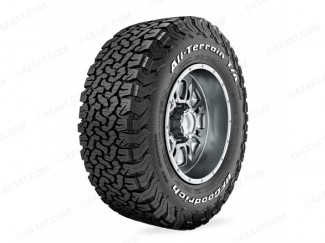 BF Goodrich All Terrain KO2 Tyre with Outlined white text