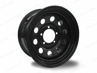 16X8 5 X 120 Vw Amarok Black Modular Steel Wheel