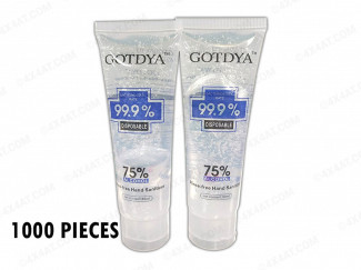 HAND GEL 80ML 75% ALCOHOL CONTENT UK SUPPLIER 4X4AT (1000 PACK)