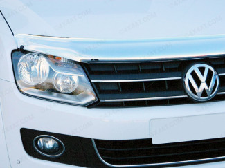 VW Amarok 2011 on Bonnet Guard (Chrome Finish)