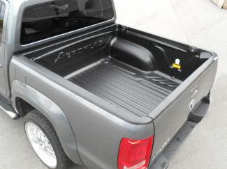 VW Amarok Double Cab Aeroklas Heavyduty Pickup Bed Tray Liner Over Rail