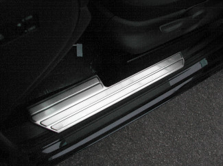 Volkswagen Amarok Brushed Stainless Steel Internal Sill Guards