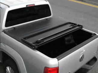HEAVY DUTY ABS TRI-FOLDING PICK-UP TONNEAU FOR THE NISSAN D40