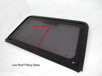 ARB Canopy Low Roof Tail Gate Door Glass D22/D23/L2005/Rodeo