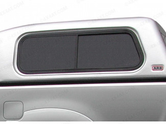 ARB Side Window Double Cab Sliding LH