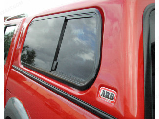 ARB Side Window Double Cab Slide Smooth LH