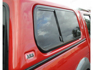 ARB Side Window Double Cab Slide Smooth RH